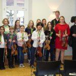 Violinklassenkonzert 2015
